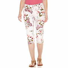 St. John's Bay Cropped Pants-Talls