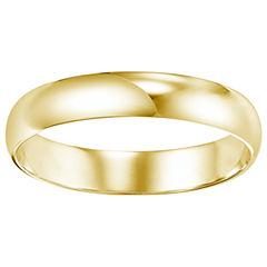 Unisex 14K Gold Wedding Band