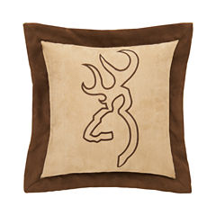 Browning Buckmark Suede Bed Rest Pillow