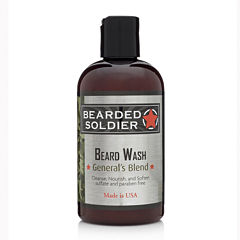 Bearded Soldier General's Blend Beard Wash - 4 oz.