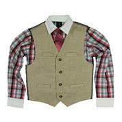 Steve Harvey® 3-pc. Vest, Shirt,and Tie Set - Boys 8-20