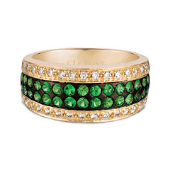 LIMITED QUANTITIES  Le Vian Grand Sample Sale Genuine Tsavorite and Diamond Ring