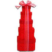 Alder Creek Hugs & Kisses Valentine Gift Tower