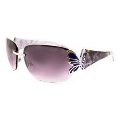 Fantas Eyes Rimless Rectangular UV Protection Sunglasses