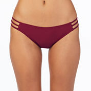 Ambrielle Solid Hipster Swimsuit Bottom