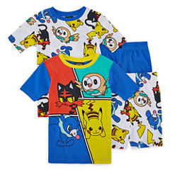 4-pc. Pokemon Pajama Set Boys
