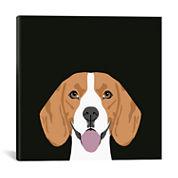 Icanvas Beagle Canvas Art