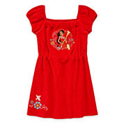 Disney Girls Elena of Avalor Solid Dress-Big Kid
