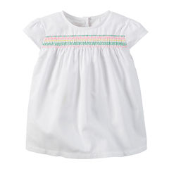 Carter's® Embroidered Top - Preschool Girls 4-6x