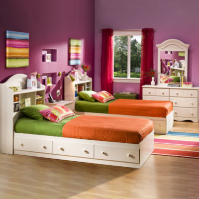 bailey youth captains platform bed with storage - Teen Furniture
