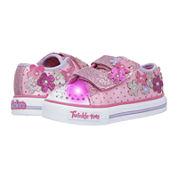 Skechers® Shuffles Flower Girls Sneakers - Toddler