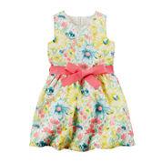 Carter's® Floral Print Sleeveless Dress - Toddler Girls 2t-5t