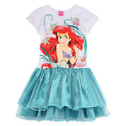Little Mermaid Glitter Dress - Girls 7-16