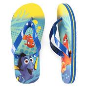 Disney Collection Dory Flip Flops - Boys 2-13