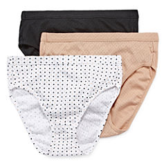 Jockey® Elance® 3-pk. Breathe French-Cut Panties 1541
