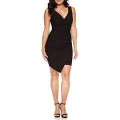 Bisou Bisou Sleeveless Wrap Dress
