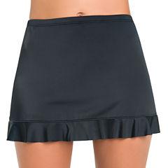 St. John's Bay Solid Swim Skirt