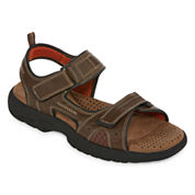 St. John's Bay Mansel Mens Strap Sandals