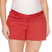 Midi Shorts Red Shorts for Women - JCPenney