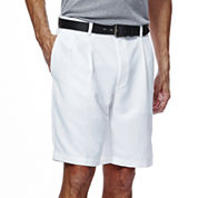 Haggar® Cool 18® No-Iron Pleated Shorts
