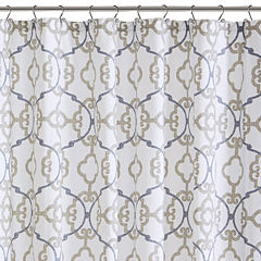 Madison Park Pure Nicola Cotton Shower Curtain