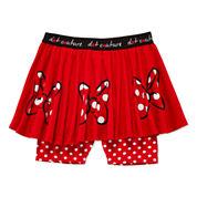 Disney Apparel by Okie Dokie® Minnie Printed Skort - Toddler Girls 2t-5t