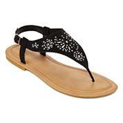 Mixit™ Floral  Shield Strap Sandals