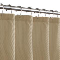 Maytex Microfiber Textured Shower Curtain Liner