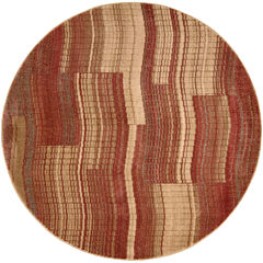 Nourison® Gentle Waves Round Rug