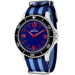 Sea-Pro Tideway Mens Two Tone Strap Watch-Sp5313nbl