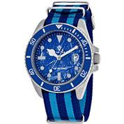Christian Van Sant Mens Multicolor Strap Watch-Cv5103nblb