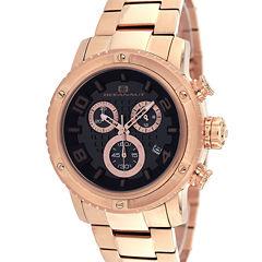 Oceanaut Mens Rose Goldtone Bracelet Watch-Oc3122