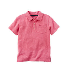 Carter's Short Sleeve Henley Shirt - Preschool Boys