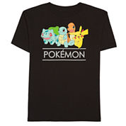 Pokemon Pokemon Graphic T-Shirt-Preschool Boys