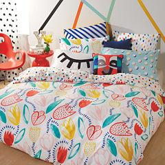 Scribble Tulip Comforter Set