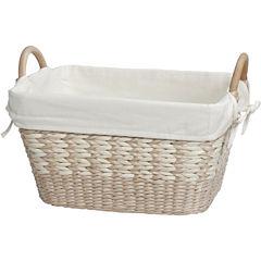 Creative Bath™ Towel Basket with Liner