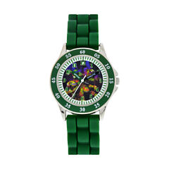 Boys Green Strap Watch-Tmn9011jc