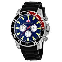 Sea-Pro Scuba Explorer Mens Black Strap Watch-Sp8331