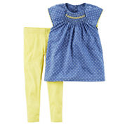 Carter's Girls 2-pc. Legging Set-Baby