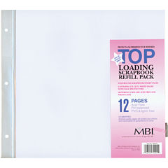 MBI Page Protectors 6/Pkg - Top Loading