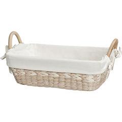 Creative Bath™ Arcadia Collection Lined Vanity Basket