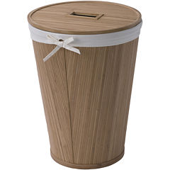 Creative Bath™ Eco Style Bamboo Hamper with Lid