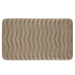 Bounce Comfort Waves Memory Foam Bath Mat Collection
