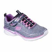 Skechers® Swirly Girl Shimmertime Girls Sneakers - Little/Big Kids