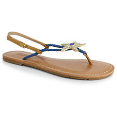 Just Dolce By Mojo Moxy Starlite Womens Flat Sandals