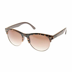 Nicole By Nicole Miller Round UV Protection Sunglasses-Womens