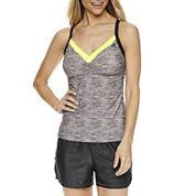 ZeroXposur® Solid Tankini Swimsuit Top or Swim Shorts