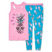 Total Girl 2-pc. Kids Pajama Set Girls