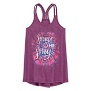 Arizona Braided Back Tank Top - Girls' Plus