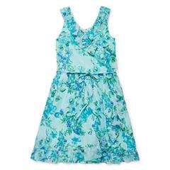 Speechless Sleeveless Dress Set - Big Kid Girls